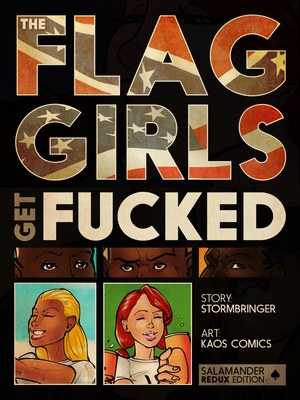 Kaos- Flag Girls Get Fucked 8muses Interracial Comics