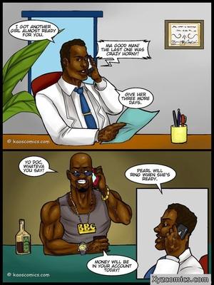 8muses Interracial Comics Kaos- The Boob Job Part 2 image 02