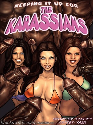 Keeping It Up for the KarASSians- BNW 8muses Interracial Comics