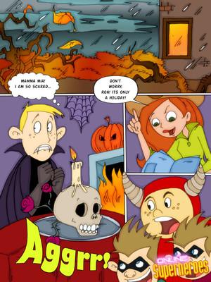 Kim Possible – Halloween 8muses Adult Comics