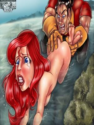 8muses Adult Comics Little Mermaid- Cartoon Reality image 12