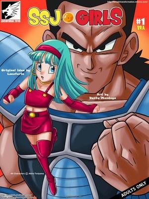 8muses Hentai-Manga Locofuria – SSJ Girls Bra- DBZ image 01