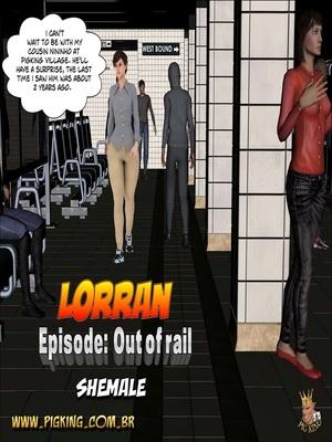 Lorran- Out of rail,Pig king 8muses 3D Porn Comics