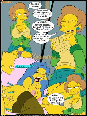 8muses Adult Comics Los Simpsons 5- New Lessons, Croc image 03