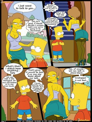 8muses Adult Comics Los Simpsons 5- New Lessons, Croc image 08