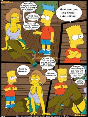 8muses Adult Comics Los Simpsons 5- New Lessons, Croc image 10