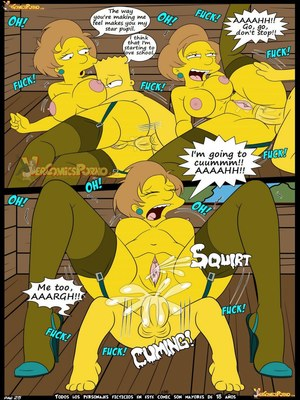 8muses Adult Comics Los Simpsons 5- New Lessons, Croc image 26