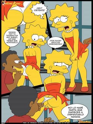 8muses Adult Comics Los Simpsons- Amor para el bravucu00f3n image 02