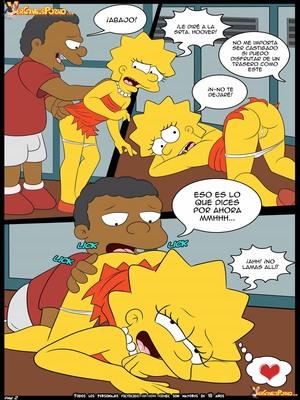 8muses Adult Comics Los Simpsons- Amor para el bravucu00f3n image 03