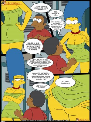 8muses Adult Comics Los Simpsons- Amor para el bravucu00f3n image 05