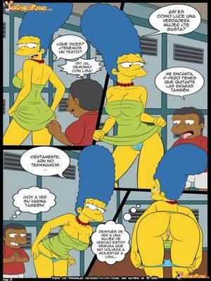 8muses Adult Comics Los Simpsons- Amor para el bravucu00f3n image 06