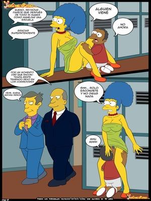8muses Adult Comics Los Simpsons- Amor para el bravucu00f3n image 09