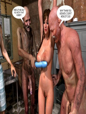 8muses 3D Porn Comics Lost Bet – Petra Helps The Elderly image 127