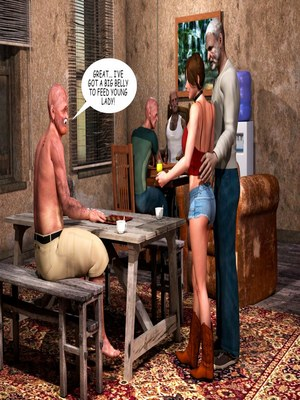 8muses 3D Porn Comics Lost Bet – Petra Helps The Elderly image 15