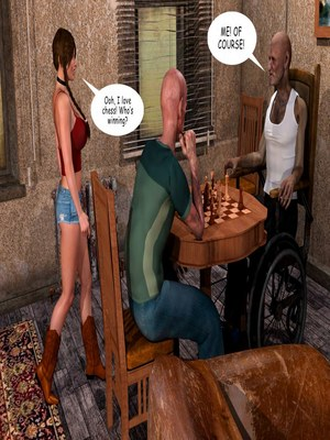 8muses 3D Porn Comics Lost Bet – Petra Helps The Elderly image 18