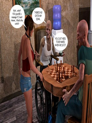8muses 3D Porn Comics Lost Bet – Petra Helps The Elderly image 26