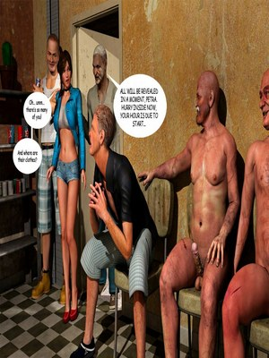 8muses 3D Porn Comics Lost Bet – Petra Helps The Elderly image 36