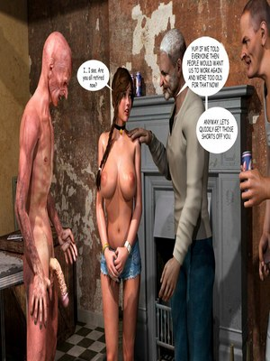 8muses 3D Porn Comics Lost Bet – Petra Helps The Elderly image 51