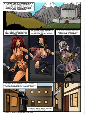 Lust of Legend- DeucesWorld 8muses Porncomics