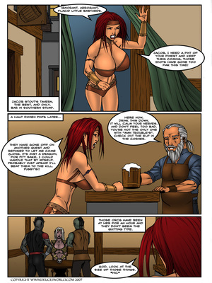8muses Porncomics Lust of Legend- DeucesWorld image 03