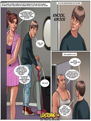Lustomic – Daniel's Big Break 8muses Adult Comics
