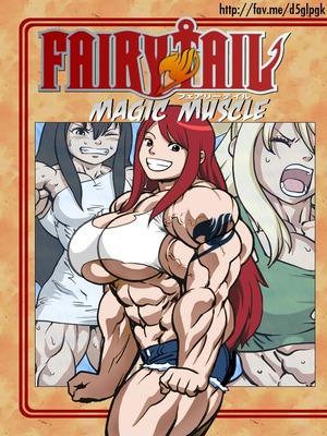 Magic Muscle (Fairy Tail) 8muses Hentai-Manga
