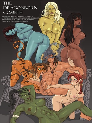 Markydaysaid- The Dragonborn Cometh 8muses Adult Comics