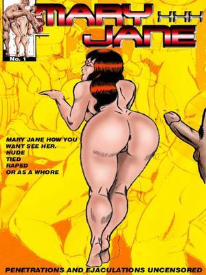 Mary Jane XXX (Spider-Man)- Wolverino 8muses Porncomics