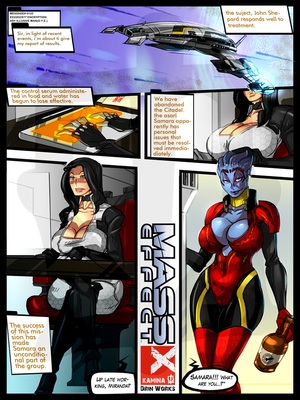 Mass Effect- Minute Of Rest For Miranda 8muses Porncomics