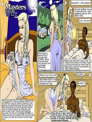 Masters Wife- illustrated interracial 8muses Interracial Comics