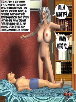 Matias & Mom Rita- 2 8muses Incest Comics