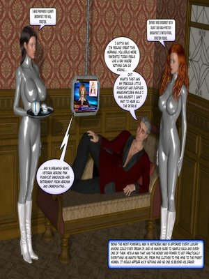 8muses 3D Porn Comics MetroBay- To Love & Obey -Maid of Honor image 05