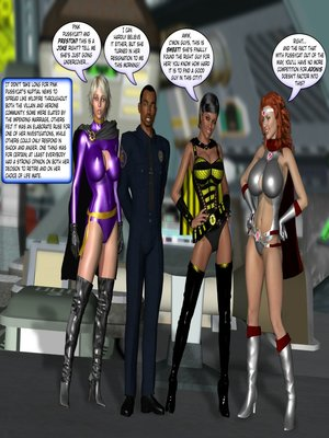 8muses 3D Porn Comics MetroBay- To Love & Obey -Maid of Honor image 07