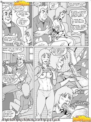 8muses Milftoon Comics Milftoon- Ben 10 Inches image 08