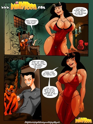 Milftoon- Superfucktural 8muses Milftoon Comics