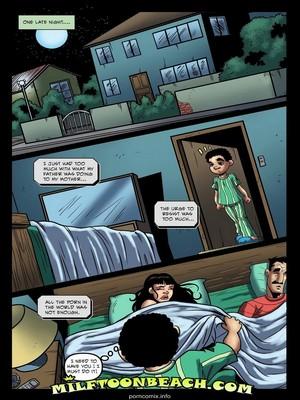 8muses Milftoon Comics Milftoonbeach- Night Incest image 01