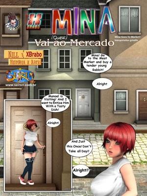 8muses Adult Comics Mina Goes To Market (English)-Seiren image 02