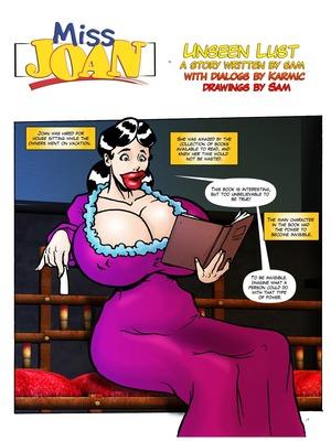 Miss Joan- Unseen Lust 8muses Adult Comics