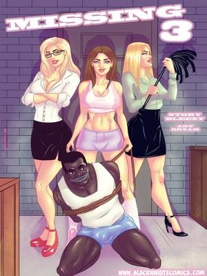 Missing 3- BlacknWhite,BNW 8muses Interracial Comics