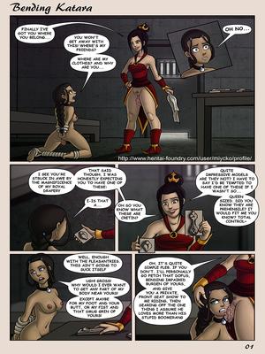 8muses Adult Comics Miycko – Bending Katara image 01