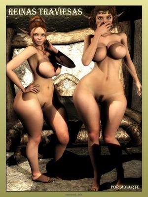 Moiarte – Reinas Traviesas 8muses 3D Porn Comics