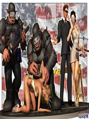 Mongo Bongo- Police State 8muses 3D Porn Comics