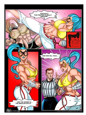 8muses Porncomics MonsterBabeCentral- Lucha Libro XXX Fight 12 image 01