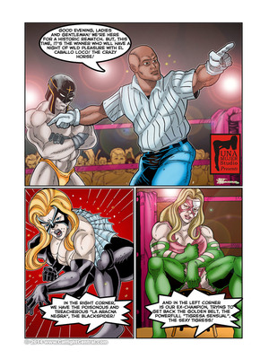 8muses Porncomics MonsterBabeCentral- Lucha Libro XXX Fight 12 image 06