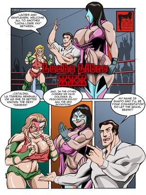 MonsterBabeCentral- Lucha Libro XXX Fight 8muses Adult Comics
