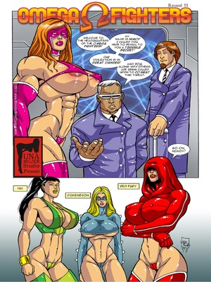 8muses Porncomics MonsterBabeCentral- Omega Fighters 11-12 image 01