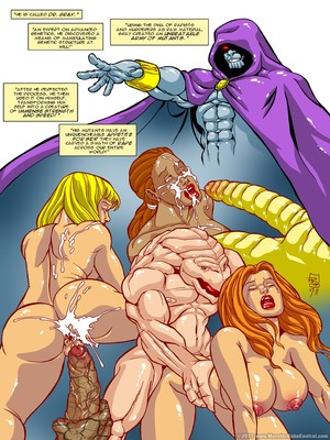 8muses Porncomics MonsterBabeCentral- Omega Fighters 11-12 image 02