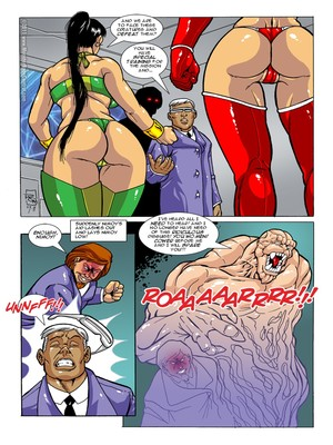 8muses Porncomics MonsterBabeCentral- Omega Fighters 11-12 image 03