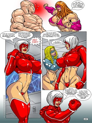 8muses Porncomics MonsterBabeCentral- Omega Fighters 11-12 image 05