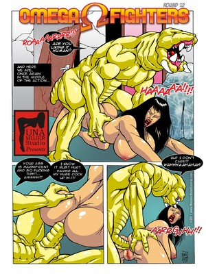 8muses Porncomics MonsterBabeCentral- Omega Fighters 11-12 image 06